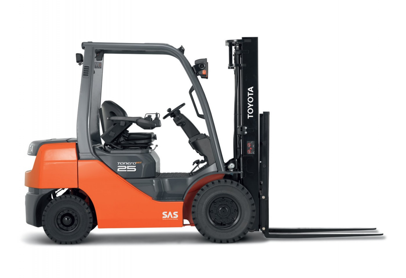 1.5 – 3.5 ton Spalinowy wózek elektryczny